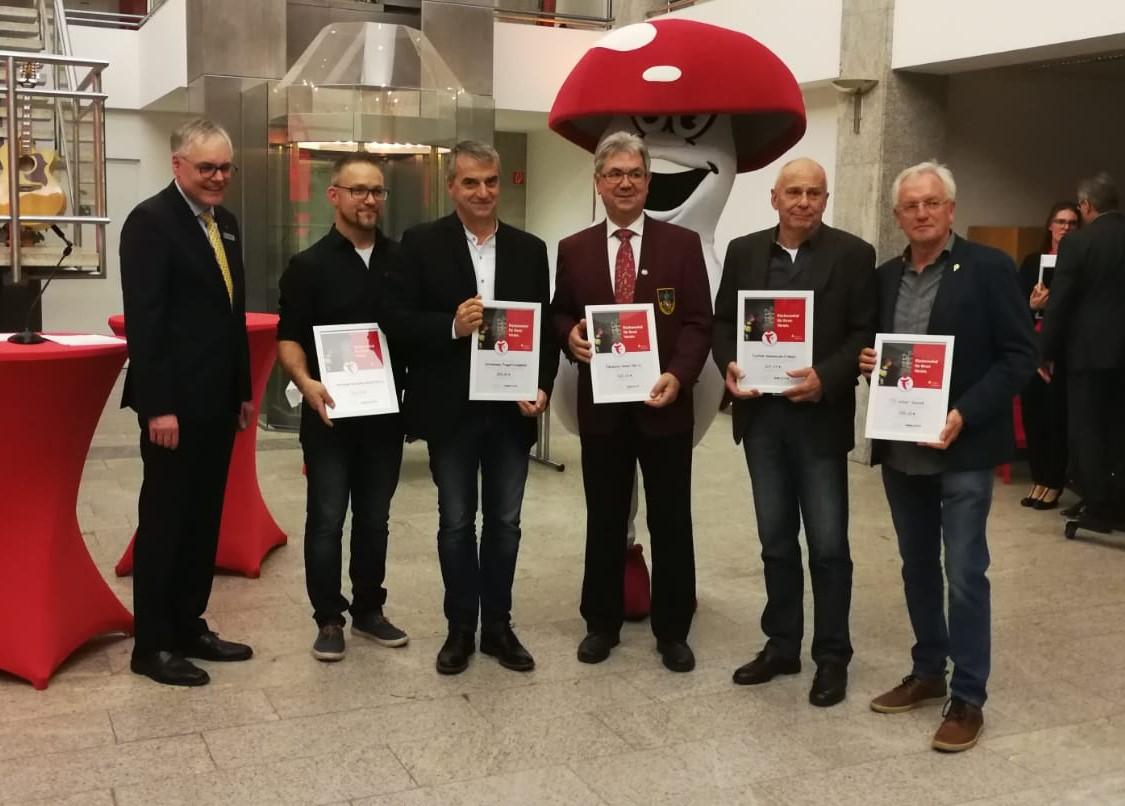 500 Euro für Jugendarbeit der Langenthaler Schützen