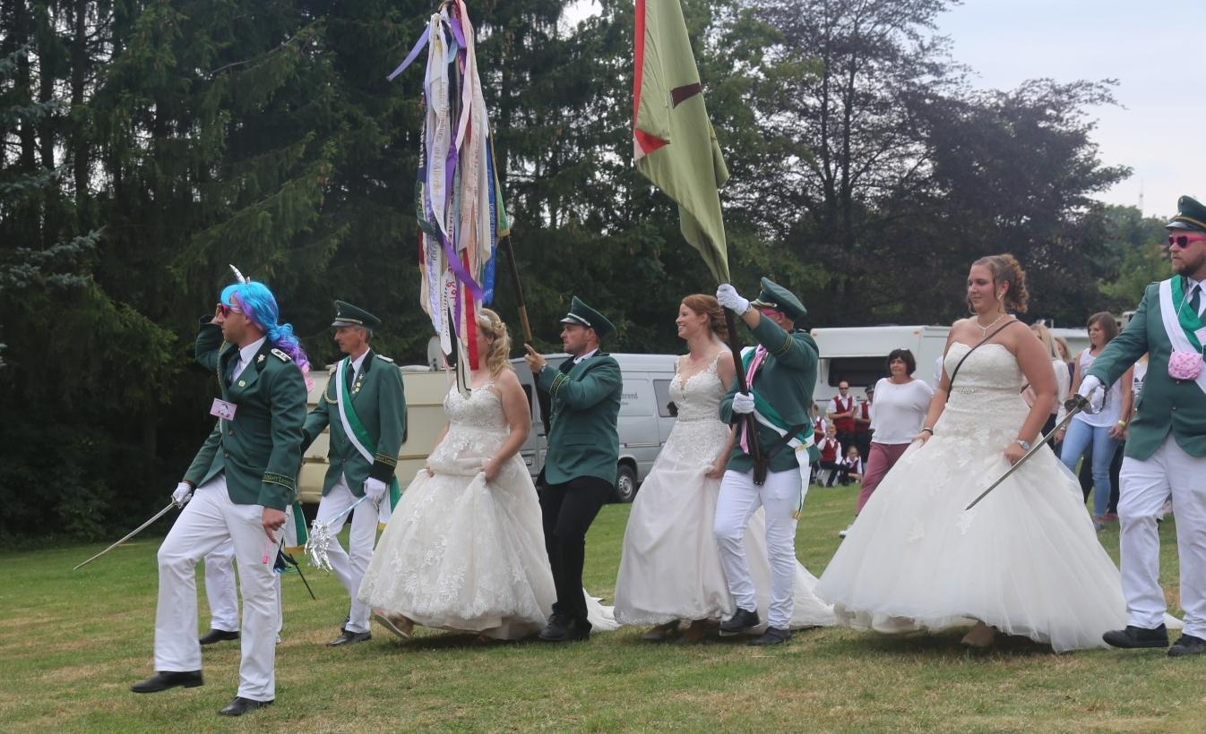 Brautschau mit Einhörnern
